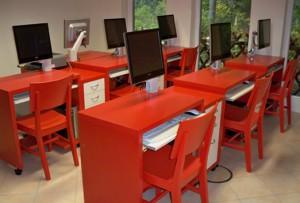 Klassenraum in Bugk